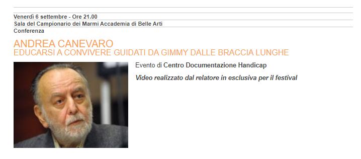 Andrea Canevaro – ospite a Con_Vivere Carrara Festival